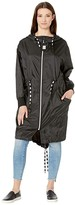 UGG Carinna Hooded Anorak (Black) Women's Coat