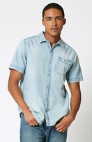 Nixon Stoney Denim Short Sleeve Button Up Shirt
