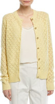 Marc Jacobs Open-Knit Cashmere Cardigan