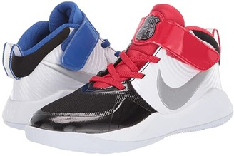 Nike Kids Team Hustle D 9 Auto (Little Kid) (Black/Metallic Silver/White/Game Royal) Kids Shoes