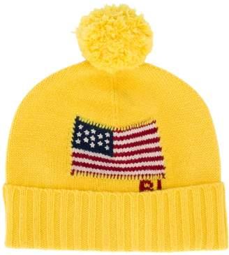 Polo Ralph Lauren American flag beanie hat