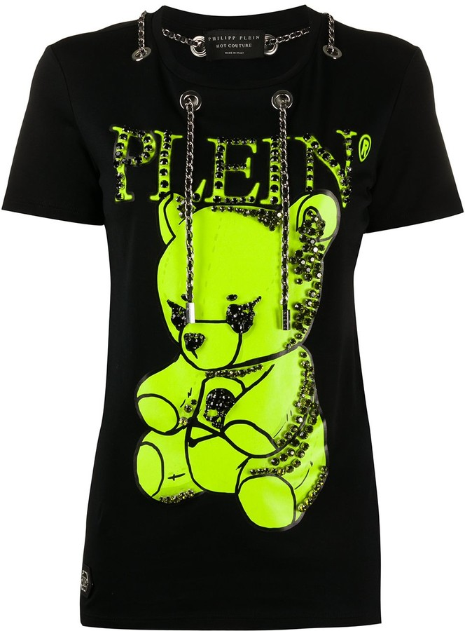 Philipp Plein teddy bear T-shirt