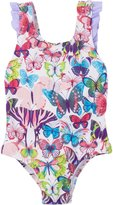 Hatley Bow Back Ruffle Swimsuit-Colorful Butterflies-5
