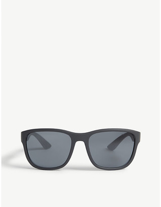 Prada Linea Rossa PS01U square-frame sunglasses