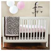 Pam Grace Creations 10pc Crib Bedding Set - Zara Zebra