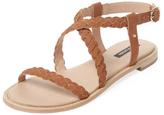 Ava & Aiden Braided Flat Sandal