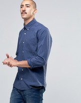 Barbour Shirt In Gingham Check Intailored Slim Fit In Blue