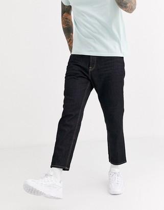 ONLY & SONS Avi regular tapered jeans in dark indigo