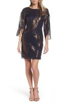 Chetta B Women's Tulip Sleeve Sheath Dress