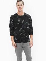 Splendid Camo Crewneck Sweatshirt