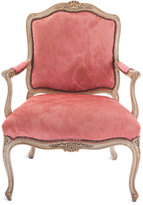 Pink Hairhide Chair