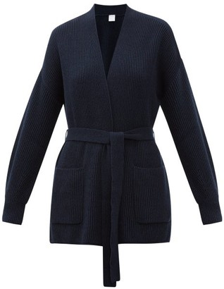 MAX MARA LEISURE Cantore Cardigan - Womens - Navy