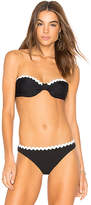 Shoshanna Scallop Bikini Top