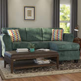 Three Posts Fredericktown Reversible Chaise Sectional