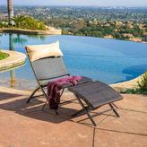 Asstd National Brand Dexter 2-pc. Outdoor Folding Lounge Chair and Ottoman Set