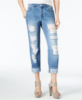 Women's Ripped Straight Leg Jeans - ShopStyle