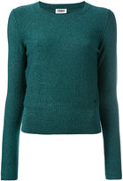 Sonia By Sonia Rykiel - sparkly knit jumper - women - Cotton/Polyester - L