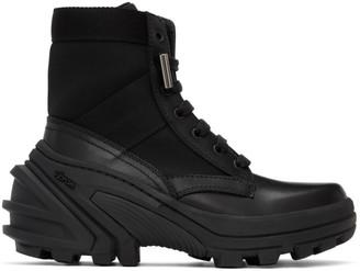 Alyx Black Fuoripista Lace-Up Boots