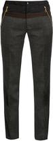 Kolor Slim-leg wool trousers