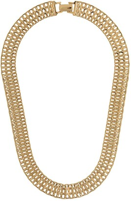 Monet Pre-Owned 1970's watchband necklace