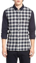 French Connection Trim Fit Pop Flannel Sport Shirt