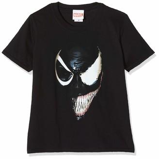 Marvel Girl's Universe Venom Split Face Hoodie
