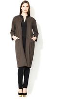 Lafayette 148 New York Nolan Open Wool Coat