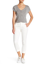 ATM Anthony Thomas Melillo Slim Stretch Twill Crop Pant