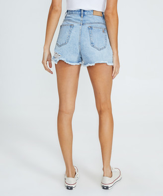 Insight Dylan Decon Denim Shorts Bright Iced Blue