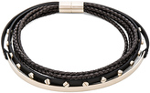 Givenchy Leather & Metal Choker