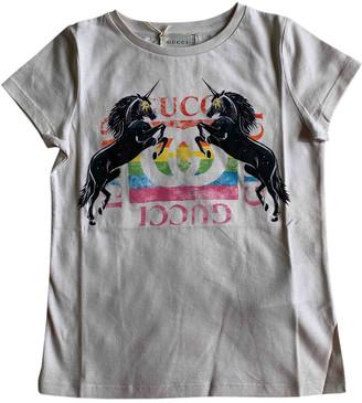 Gucci Beige Linen Tops