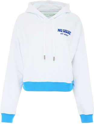 Off-White Off White No Doubt Print Hoodie