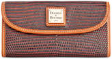 Dooney & Bourke Lizard-Embossed Continental Wallet, Created for Macy's