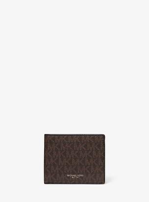 Michael Kors Greyson Logo Slim Billfold Wallet