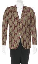 Our Legacy Wool-Blend Printed Blazer
