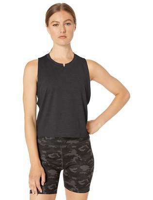 Core 10 Soft Workout Cropped Tank T-Shirt