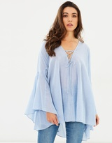 Shona Joy St Martin Flared Sleeve Tunic