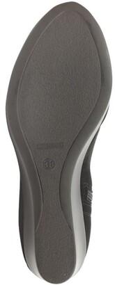 Daniel Rosetta Black Wedge Ankle Boots