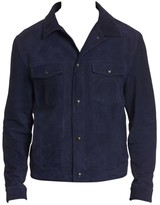 Robert Graham Marko Suede Denim Jacket