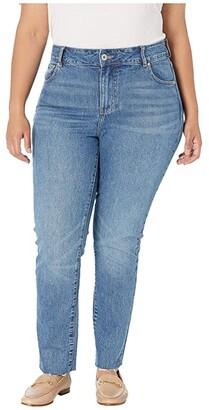 Jag Jeans Stella High-Rise Straight Leg Jeans (Hudson Blue) Women's Jeans