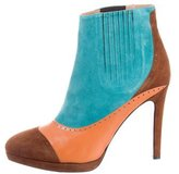 Jean-Michel Cazabat for Sophie Theallet Colorblock Ankle Boots