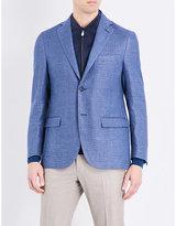Corneliani Regular-fit Hemp And Wool-blend Jacket