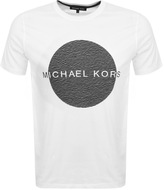 Michael Kors Wave Circle Logo T Shirt White