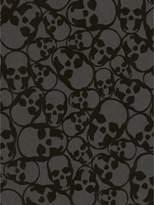 Graham & Brown Skulls Wallpaper – Black