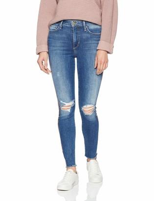 Joe's Jeans Women's Charlie HIGH Rise Stripe Skinny Ankle