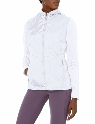 Cutter & Buck Women's Moisture Wicking 50+ UPF Lightweight Ava Hybrid Zip Jacket