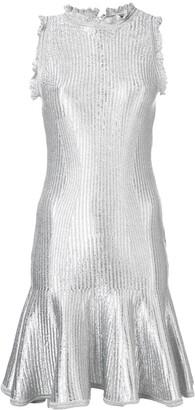 Alexander McQueen Flared Mini Dress
