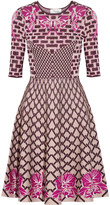 Temperley London Carissa jacquard-knit dress