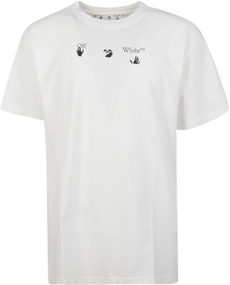 Off-White Peace World Wide Slim T-shirt