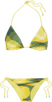 Missoni Printed triangle bikini